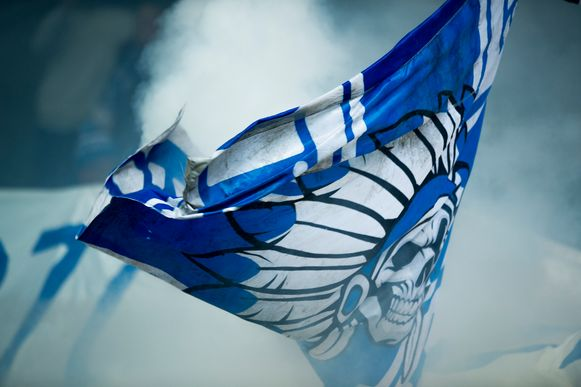 Een Buffalo-vlag.