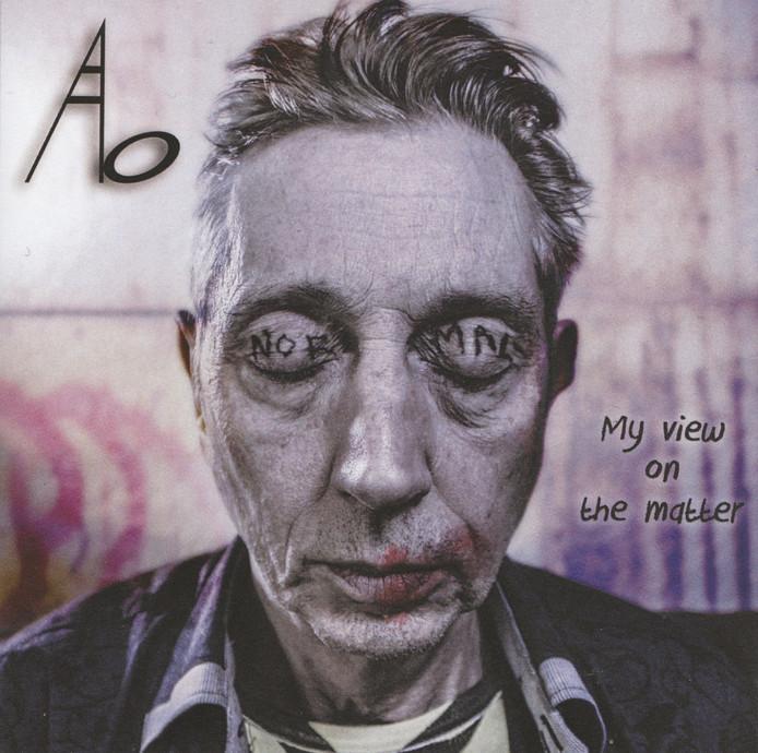 De cover van het eerste solo-album van Guus Boers alias Ab.