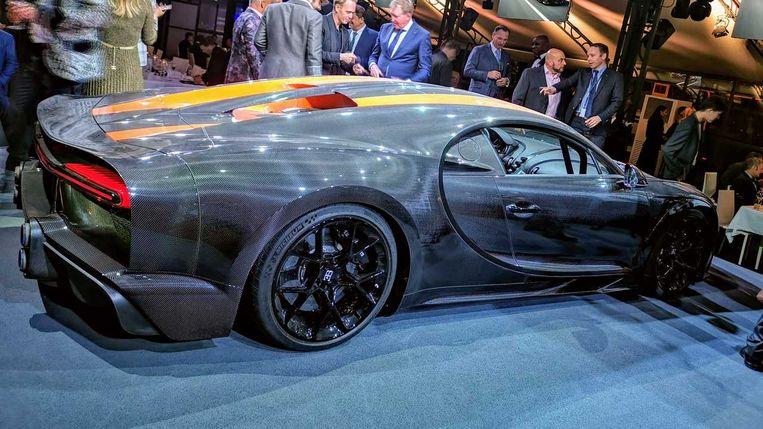 De nieuwe Bugatti Chiron 300+.