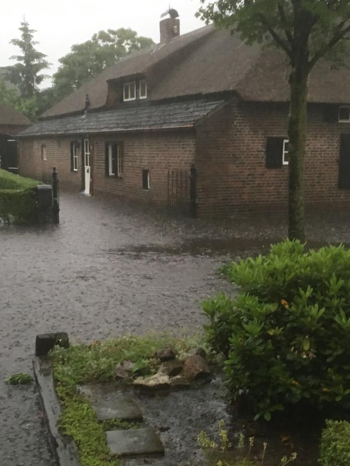 Wateroverlast in Someren en Asten