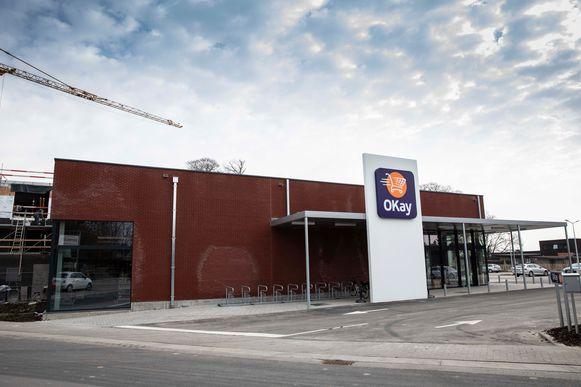 Groep Colruyt opent nieuwe Okay in het centrum van Hoeselt.