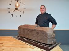 Patissier Kevin uit Aardenburg maakt treinen van chocolade voor tentoonstelling: 'Een immens project'