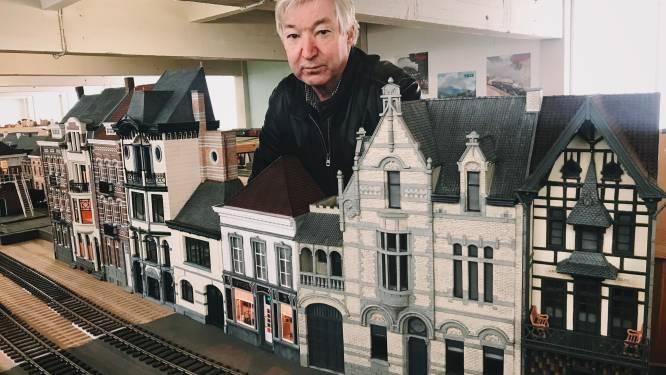 """Marc maakt een Aalsters Mini-Europa: """"Dit jaar bouw ik de Borse Van Amsterdam na"""""""