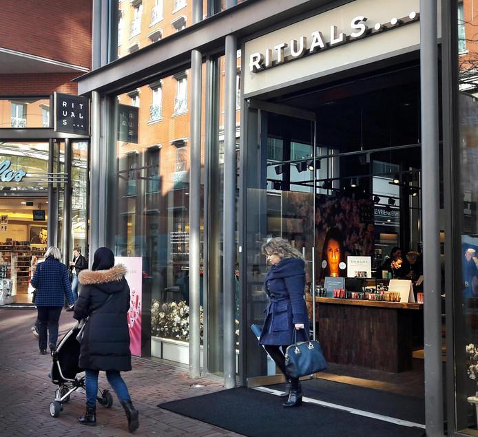 De nieuwe locatie van Rituals Dordrecht, aan de Sarisgang.