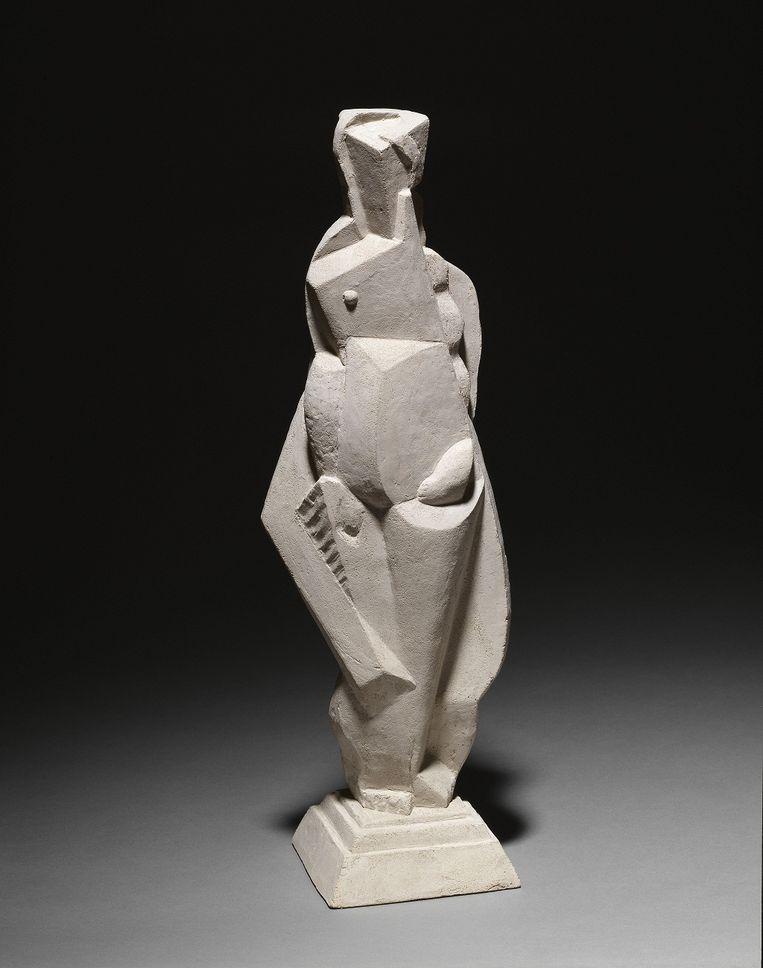 Nu (naakt), 1921. Beeld ADAGP, Paris 2014, collectie Centre Pompidou