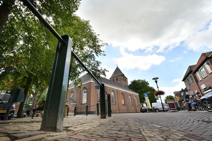 Het centrum van Den Ham.