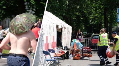 Extreme temperaturen blijven uit tijdens 20 km door Brussel: 200-tal lopers hebben toch verzorging nodig