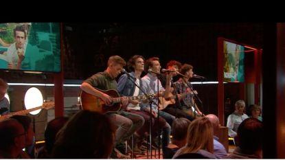 Nieuwe boysband BOBBY voor het eerst live op nationale televisie in 'Vandaag'