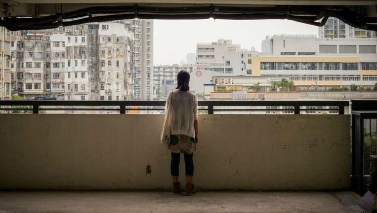 Li Rui, een depressieve student geneeskunde. Beeld Getty Images
