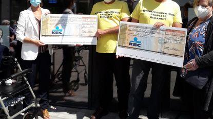 Stefan (52) en Ronan (67) zamelen met wandeling naar Scherpenheuvel 2.800 euro in voor woonzorgcentra