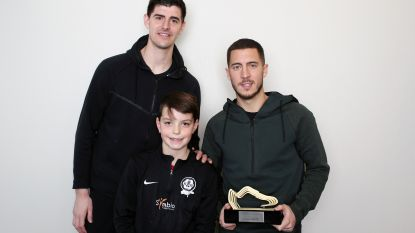 """Eden Hazard Beste Belg in het buitenland: """"De eerste, maar zeker niet de laatste"""""""