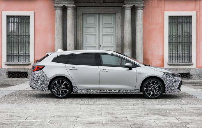 Het design van de Corolla, die volgend jaar in de showroom staat, onderscheidt zich nu veel meer van de middelmaat.
