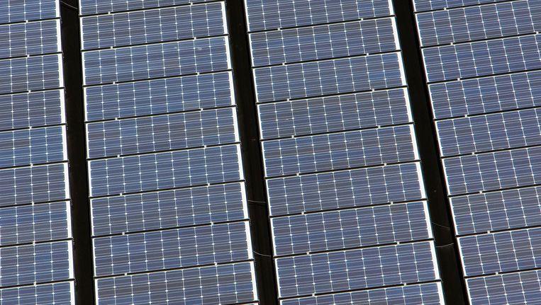 Zonnepanelen winnen verder aan rendement door thuisaccu's Beeld anp
