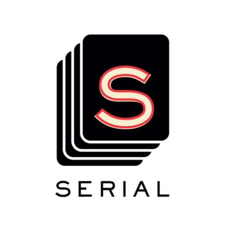 Serial logo. Beeld Latoya Van Der Meeren