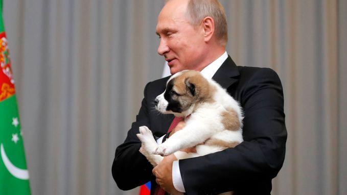 Poetin wordt 65, en daar horen (vreemde) cadeautjes bij
