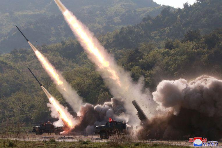 Noord-Korea lanceerde de afgelopen weken opnieuw raketten.