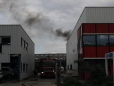Brandje bij bedrijf WBT-Electron in Moordrecht