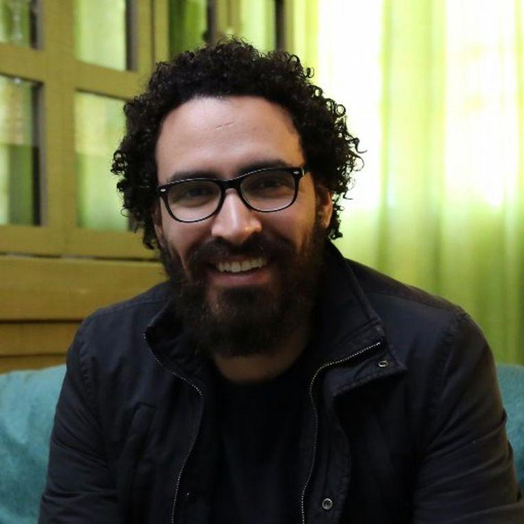 Journalist Ahmed Ziyada. Beeld RV