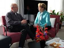 Lida Burggraaff van hospice Vianen bij EO op tv