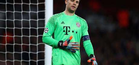 Bayern München twee duels zonder geblesseerde Neuer