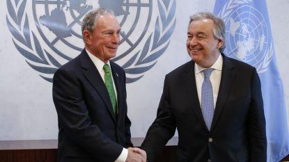Oud-burgemeester New York gaat aan de slag bij de Verenigde Naties