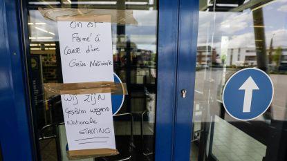 IN KAART: 143 winkels blijven wellicht ook morgen dicht door sociale onrust bij Lidl