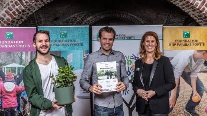 Twee Brusselse projecten nemen BNP Paribas Fortis Award in ontvangst