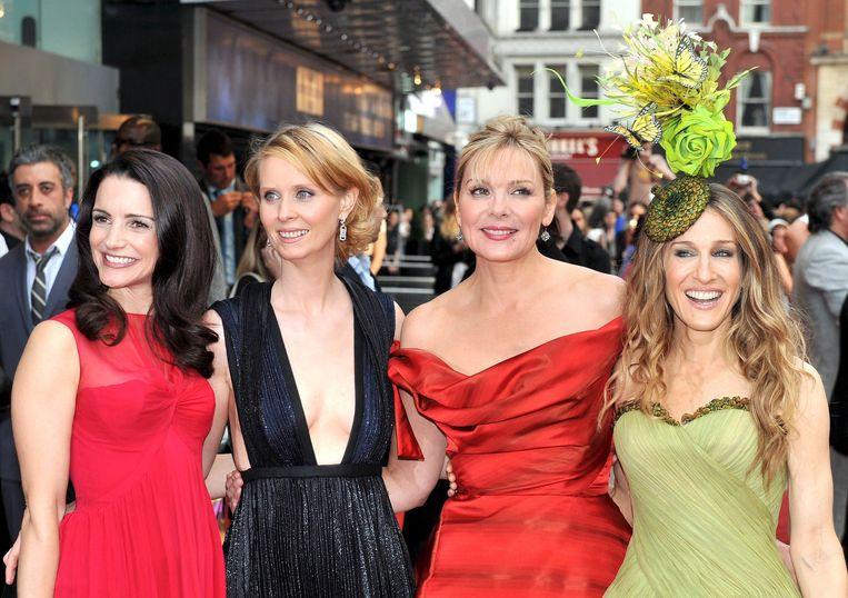 Kristin Davis, Cynthia Nixon, Kim Cattrall en Sarah Jessica Parker