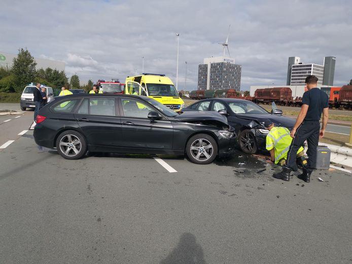 Het ongeval deed zich voor in de Vosseschijnstraat.