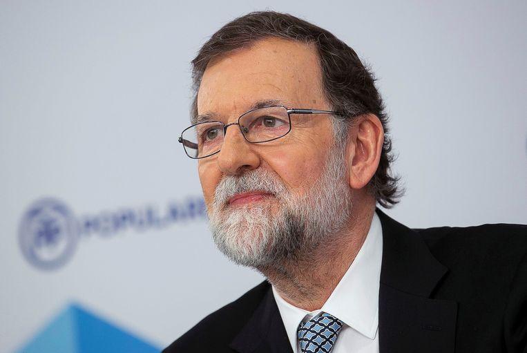 De vroegere conservatieve premier Mariano Rajoy