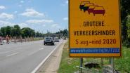Met vertraging van drie jaar start maandag tweede fase 'horrorwerf' Woluwedal