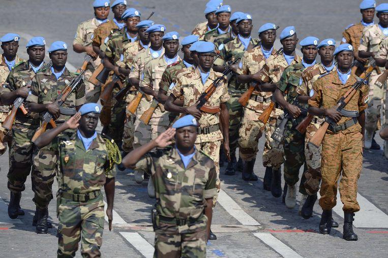 Minusma-soldaten in Mali. Beeld AFP