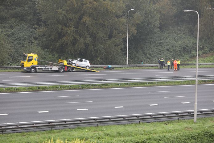 Ongeval A13 richting Rotterdam