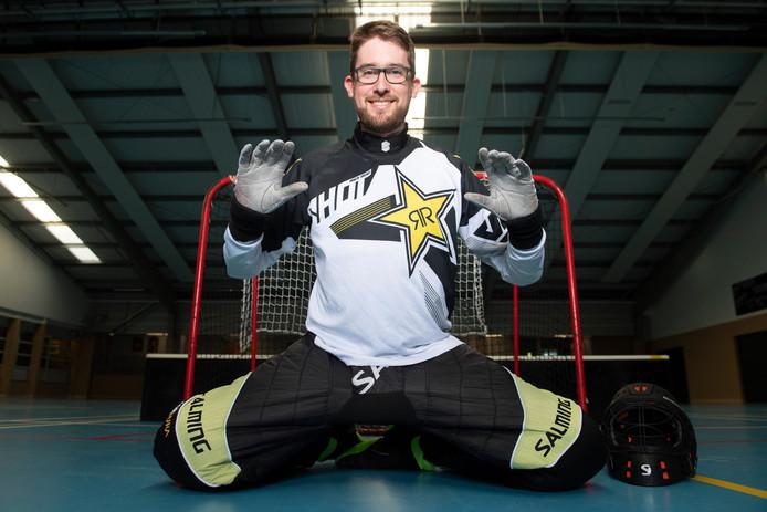 Niels van der Haven: 'Floorball is een laagdrempelige sport'.