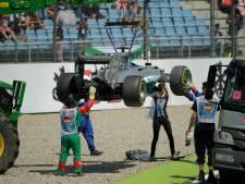 Grosse sortie de piste pour Hamilton