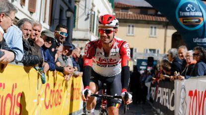 Campenaerts wil graag slottijdrit in Tirreno winnen, maar was tot nu nooit sneller dan Dumoulin of Dennis
