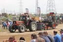 Het tractor pulling evenement had heel wat bekijks.