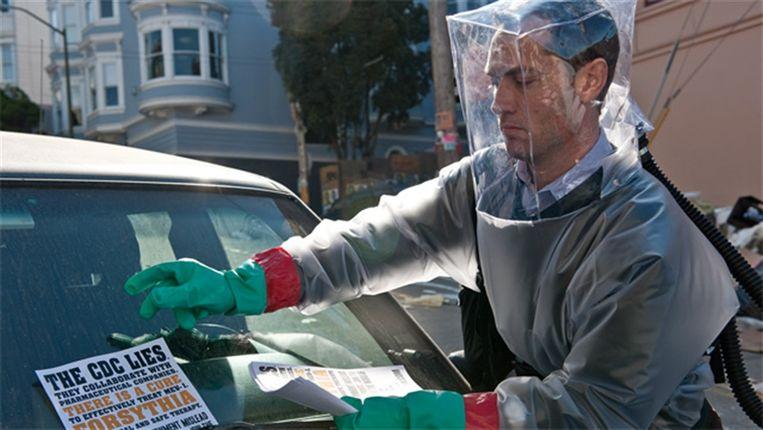 Filmstill uit de film 'Contagion' van Steven Soderbergh. Beeld null
