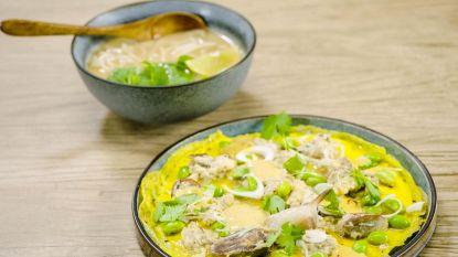 Oosters op je bord: Loïc maakt Thaïse soep