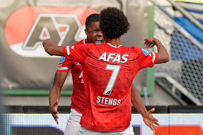 Myron Boadu en Calvin Stengs maken indruk aan het begin van het seizoen.