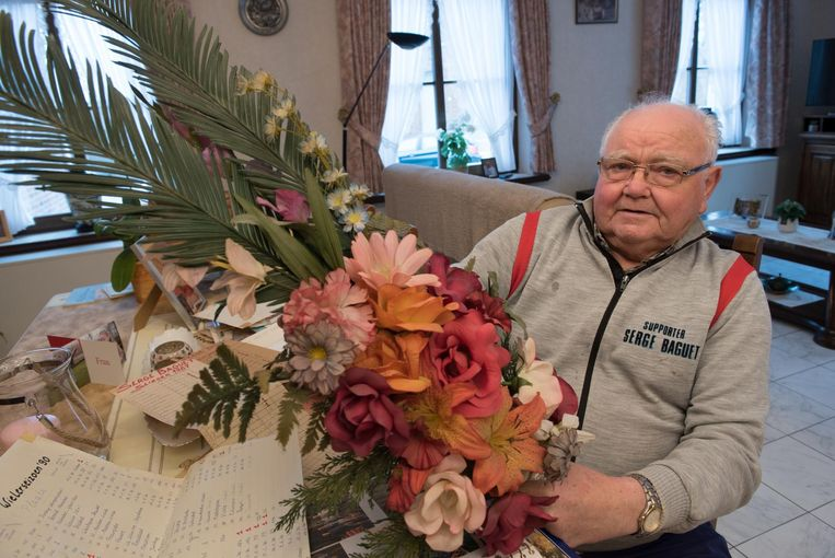 Albert koestert de allereerste palm van Serge uit 1984.