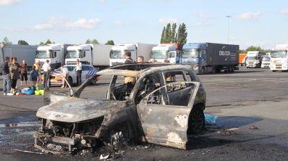 Namiddagje shoppen eindigt met uitgebrande auto voor Frans gezin