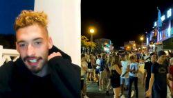 """Studenten in Albufeira: """"Wilden nog eens 'vollenbak' gaan"""""""