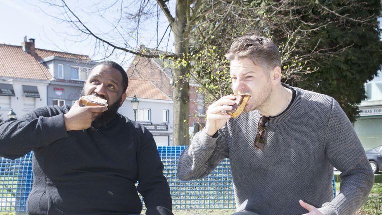 Met De Jeugd van Tegenwoordig naar de 'Anale Driehoek' in België. Beeld Marie Wanders