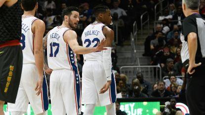 Philadelphia schrijft clubgeschiedenis met vijftiende zege op rij, Nowitzki gaat voor 21ste seizoen bij Dallas