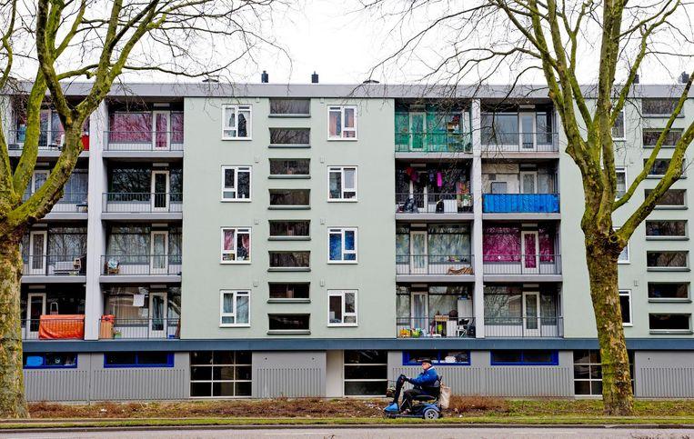 Woningen in een wijk in Rotterdam.  Beeld ANP, Robin Utrecht