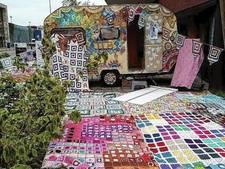 Puttense dekenlapjes gaan  mee in de Haak-je-aan-caravan