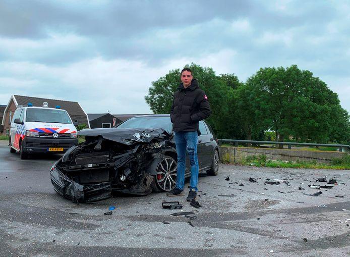 """Mart (18) """"verkocht"""" zijn auto aan een dief en kreeg 'm zo terug."""