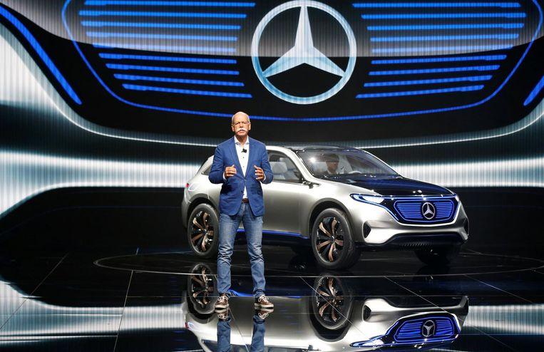 Dieter Zetsche, huidig CEO van Daimler (Archiefbeeld ter illustratie).