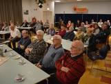 Ouderenmiddag met het Roosendaalse koor Zout en Zoet in het Dorpshuis in Dinteloord